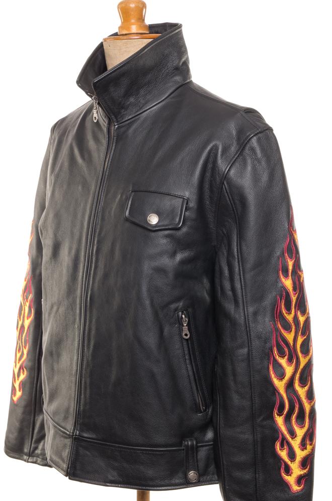 115f99cc56d9e Home / Men / Jackets / Leather jacket Harley Davidson XL