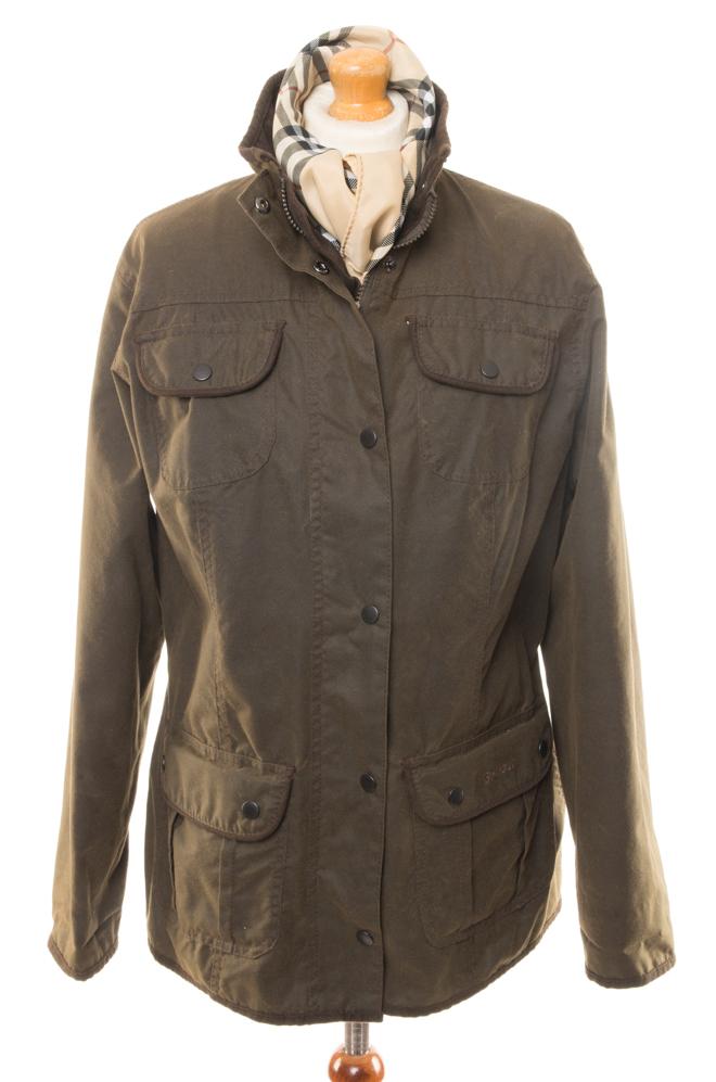 c458c955711c6 Barbour Utility Jacket waxed 42 L - Vintage Store