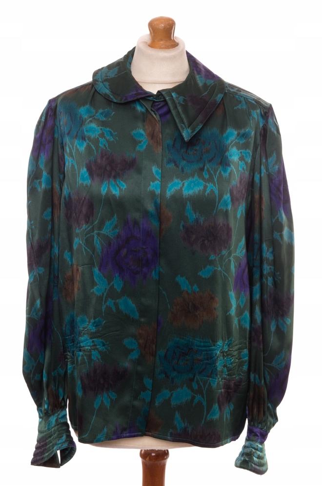 3f60c970c2ef25 Silk vintage shirt Escada Margaretha Ley 40 - Vintage Store