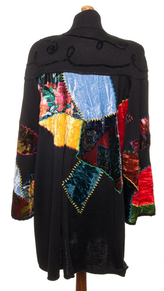vintagstore.eu_christian_lacroix_dress_wool_patchwork_IGP0395